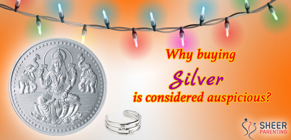 Why buying silver is considered auspicious