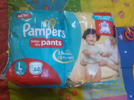 Pampers 1 Dipers