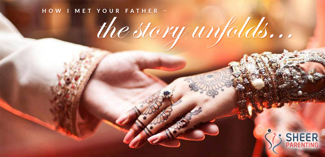 First Meet of a boy and a girl in a typical arranged marriage