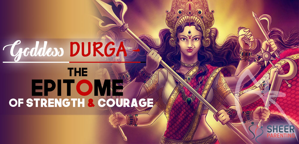 Goddess Durga is the Epitome of Strength and Courage