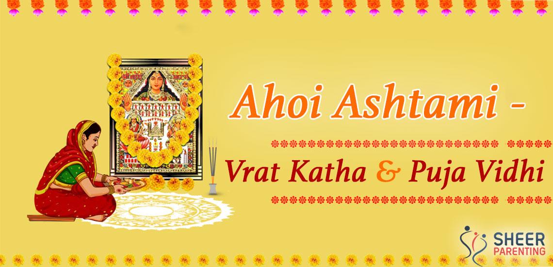 Ahoi Ashtami Vrat Katha & Puja Vidhi