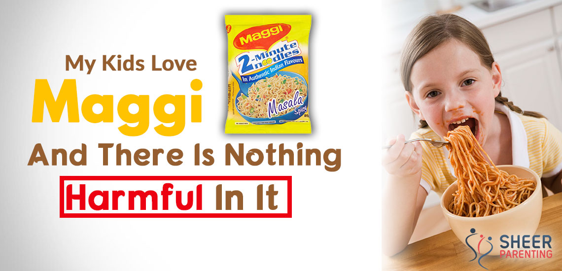 maggi noodles are a healthy choice