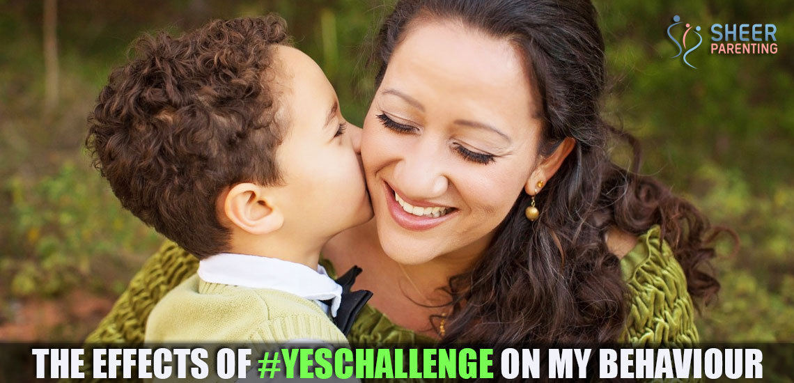 Have you taken the Yeschallenge today?
